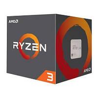 Процессор AMD Ryzen 3 1200 (YD1200BBAEBOX) AM4, 4 ядра, 3.10GHz, L2: 4x512KB, L3: 8MB, 14nm, 65W, Ze