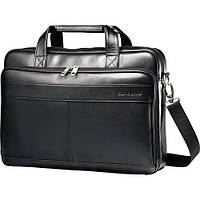 "Кожаная мужская сумка Samsonite для ноутбука до 15.6"", фото 1"