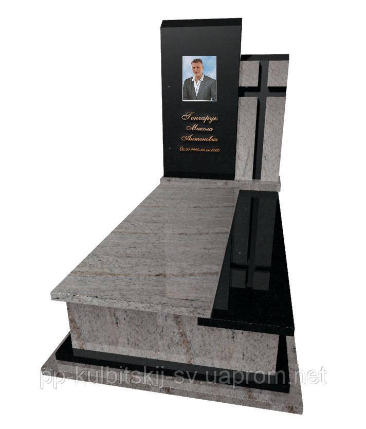 Пам'ятник гранітний Елітний одинарний Р 5037
