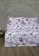 Постельное белье Lotus Ranforce - Emily розовый семейное