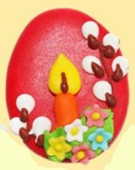 Пасхальный декор Яйцо