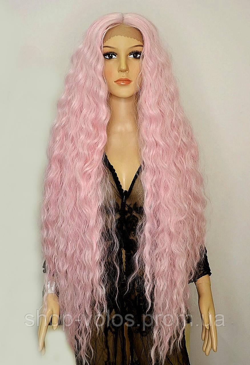 Парик на сетке Bohemian pink