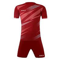 Форма футбольная SECO Galaxy Set цвет: бордовый
