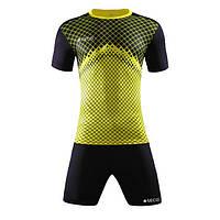 Форма футбольная SECO Geometry Set цвет: черный, желтый, фото 1