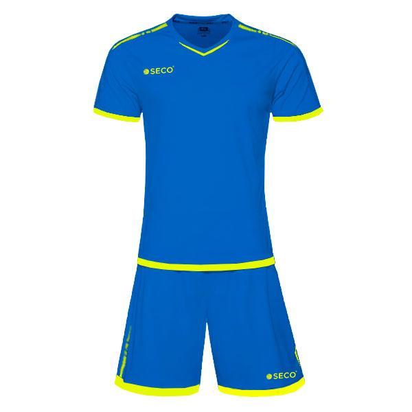 Форма футбольная SECO Basic Set цвет: синий, зеленый