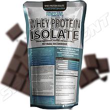 Протеин Fitness Live Whey Protein Isolate 500 г, шоколад