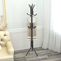 Вешалка-стойка напольная металлическая 175*45см