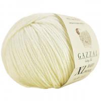 Пряжа Gazzal Baby Wool XL 829 (Газзал Беби Вул) Шерсть Акрил Бежевый