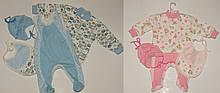 Комплект для новонародженого 56-68 р:кофта,об'єднані повзунки,шапка,слинявчик 2 кольори
