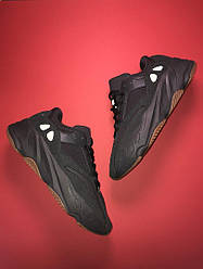 Мужские кроссовки Adidas Yeezy Boost 700 Utility Black (черные)