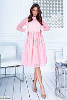 Нарядное красивое платье флок арт 319