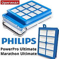 Оригинал Philips Marathon и Powerpro Ultimate FC9922 09 фильтр на пылесос с контейнером для пыли PowerСyclone