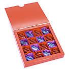 Шоколадные конфеты ручной роботы *Сладкие поцелуи,красная коробка*, фото 4