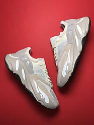 Мужские кроссовки Adidas Yeezy Boost 700 Analog (белые)