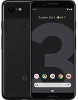"Смартфон Google Pixel 3 64gb Just Black, Snapdragon 845, экран 5.5"" P-OLED, 12,2/8+8Мп, IP68, 1sim, 4G (LTE)"
