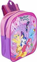 Дошкольный детский рюкзак Мой Маленький Пони My Little Pony для девочек 3-6 лет
