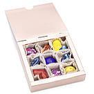 Шоколадные конфеты ручной роботы *Коробка металлик на 9шт.*, фото 2