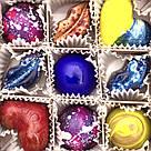 Шоколадные конфеты ручной роботы *Коробка металлик на 9шт.*, фото 6