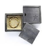 Браслет мужской Hephaestum яшма пейзажная, серебро 925 пробы, фото 2
