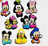 Джибитсы для Crocs Микки Маус, Гуфи, Плуто, Дейзи Дак, Дональд Дак, Минни Маус, фото 1