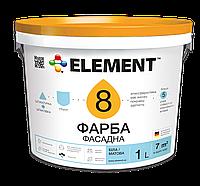 """Фасадная краска """"ELEMENT"""" 8, 1 л"""