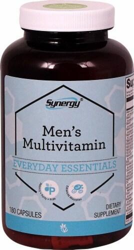 Vitacost Synergy Men's, комплекс витаминов, аминокислот  и экстрактов для мужчин, 180 капс