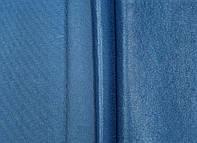 Ткань для штор софт синего цвета