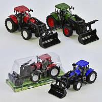 Трактор инерционный 2066 48 в слюде - 220776