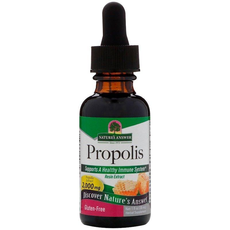 "Прополис Nature's Answer ""Propolis"" без спирта, 2000 мг (30 мл)"