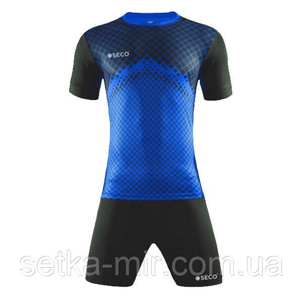 Форма футбольная SECO Geometry Set цвет: черный, синий