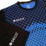 Форма футбольная SECO Geometry Set цвет: черный, синий, фото 6