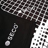 Форма футбольная SECO Geometry Set цвет: черный, белый, фото 9