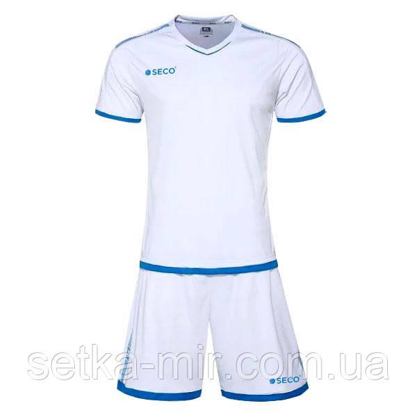 Форма футбольная SECO Basic Set цвет: белый, синий