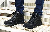 Зимние кроссовки Adidas black, фото 1