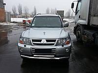 Кенгурятник Mitsubishi Pajero Wagon 3 (00-06) - ус двойной, фото 1