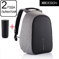 "Оригинал! Гарантия 2 года. Рюкзак антивор XD Design Bobby Hero XL 17"", серый"