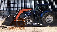 Погрузчик КУН тракторный фронтальный быстросъёмный НТ-1200 АГРИС на Нью Холланд ТД 5.110 с ковшом 1,3