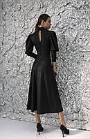 Коктейльное женское платье из трикотажа, фото 2