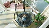 Батут детский EXIT Tiggy 140 см серый с внутренней сеткой, фото 7
