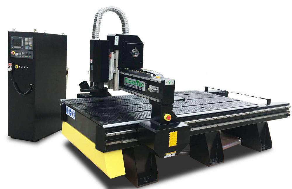Фрезерно-гравірувальний верстат з автоматичною зміною інструменту (1300х2500 мм) від TIGERTEC 9 кВт