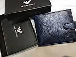 Брендовый кошелек из натуральной кожи в коробке (разные варианты), фото 7