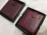 Брендовый кошелек из натуральной кожи в коробке (разные варианты), фото 6