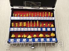 Набор фрез стержневых Euro Craft  RS207 - 35 шт, фото 2