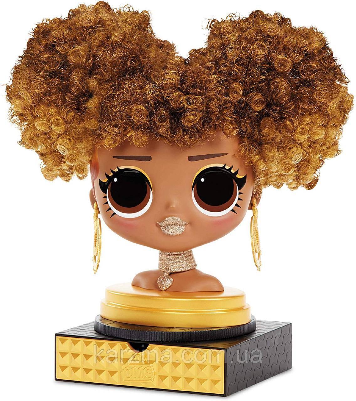 L.O.L. Surprise O.M.G. Голова манекен для причесок стайлин Королева Пчелка Оригинал MGA Styling Head Royal Bee