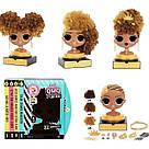 L.O.L. Surprise O.M.G. Голова манекен для причесок стайлин Королева Пчелка Оригинал MGA Styling Head Royal Bee, фото 5