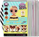 L.O.L. Surprise O.M.G. Голова манекен для причесок стайлин Королева Пчелка Оригинал MGA Styling Head Royal Bee, фото 7