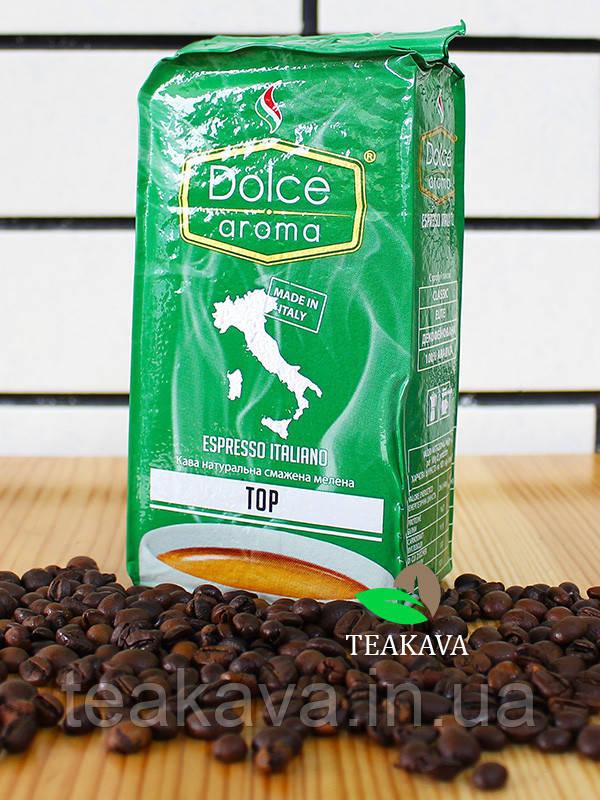 Кофе молотый Dolce Aroma Top, 250 г (70/30)