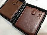 Брендовый кошелек из натуральной кожи в коробке (разные варианты), фото 3