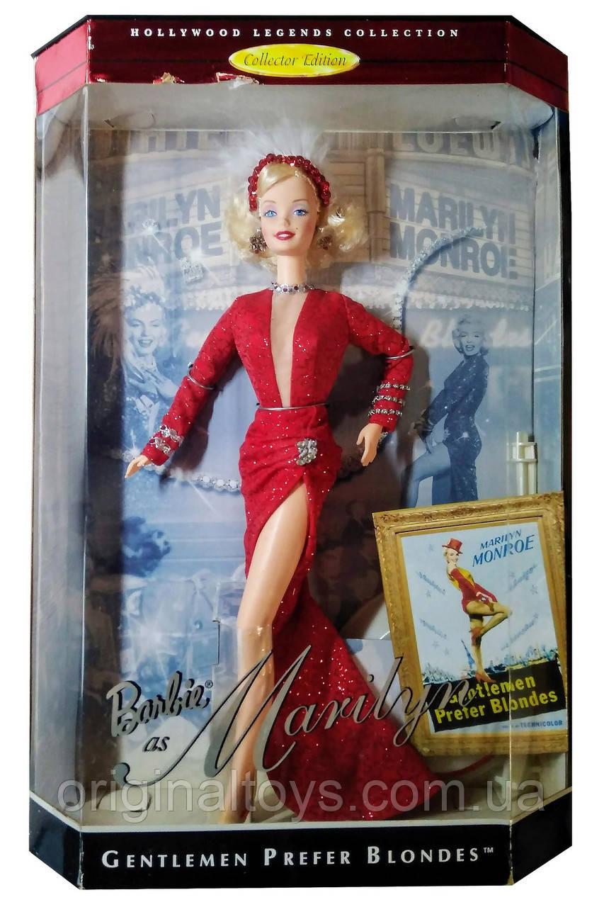 Колекційна лялька Барбі Мерилін Монро Джентльмени віддають перевагу блондинкам Barbie Marilyn Monroe 1997 Mattel