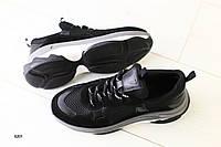 Женские черные кроссовки, фото 1